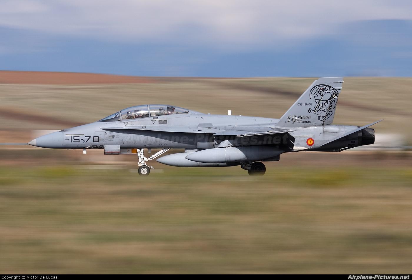 Spain - Air Force CE.15-01 aircraft at Madrid - Torrejon