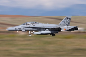 CE.15-01 - Spain - Air Force McDonnell Douglas EF-18B Hornet