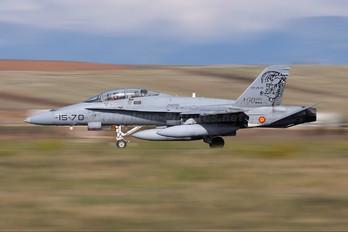 CE.15-01 - Spain - Air Force McDonnell Douglas EF-18B Hornet