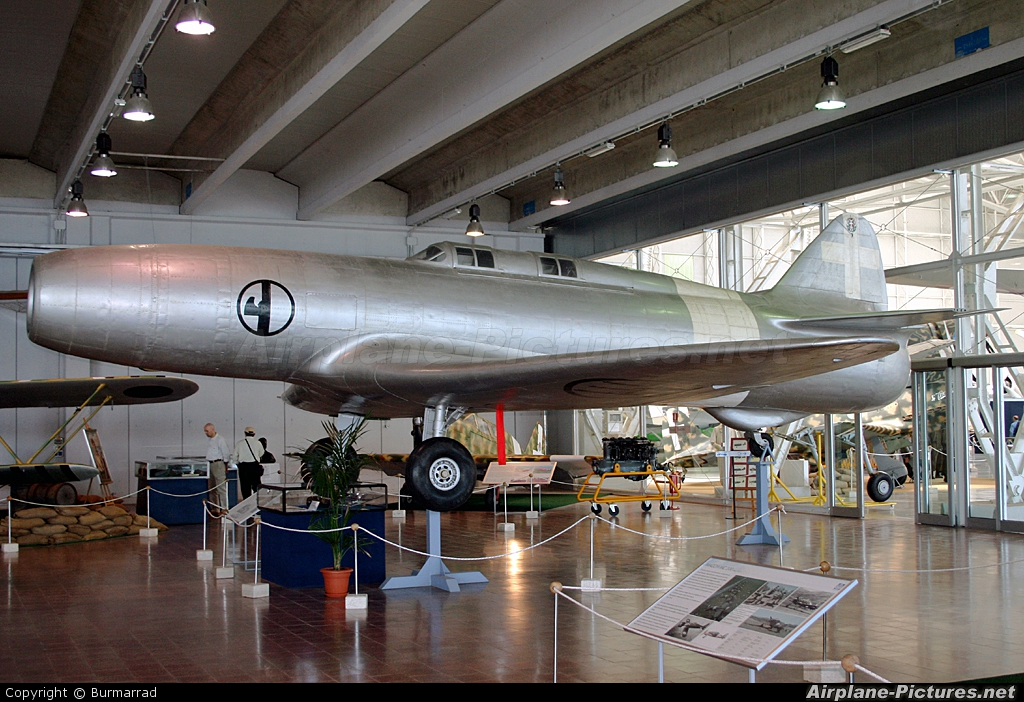 Italy - Air Force MM487 aircraft at Vigna di Valle - Italian AF Museum