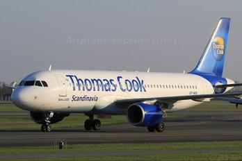 OY-VKS - Thomas Cook Scandinavia Airbus A320