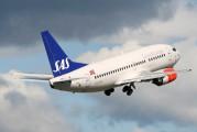 LN-BUG - SAS - Scandinavian Airlines Boeing 737-500 aircraft