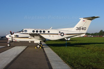 163840 - USA - Navy Beechcraft UC-12M Huron
