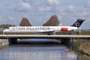 OY-KHP - SAS - Scandinavian Airlines McDonnell Douglas MD-81 aircraft