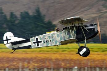 ZK-FOD - The Vintage Aviator Limited Fokker D.VII (replica)