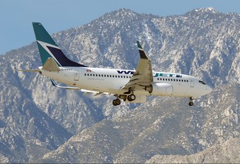 C-FBWS - WestJet Airlines Boeing 737-700