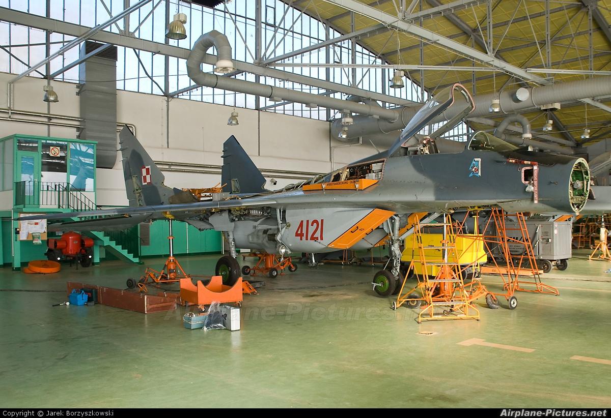 Poland - Air Force 4121 aircraft at Malbork