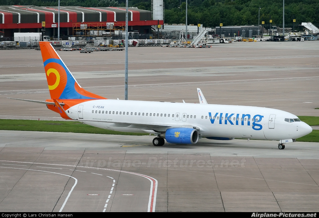 Viking Airlines C-FEAK aircraft at Manchester