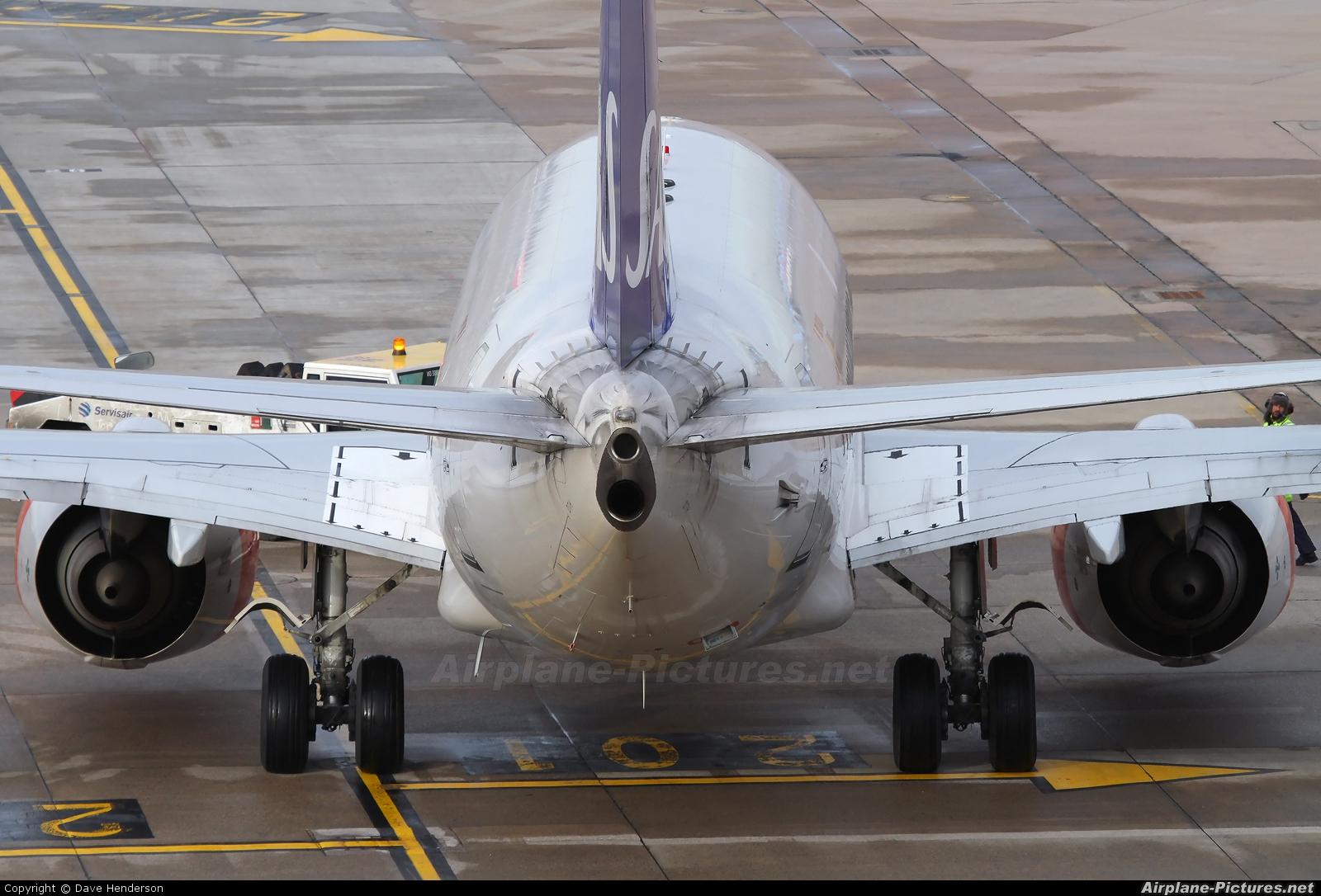 SAS - Scandinavian Airlines SE-DTH aircraft at Manchester