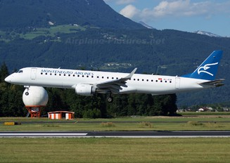 4O-AOB - Montenegro Airlines Embraer ERJ-190 (190-100)