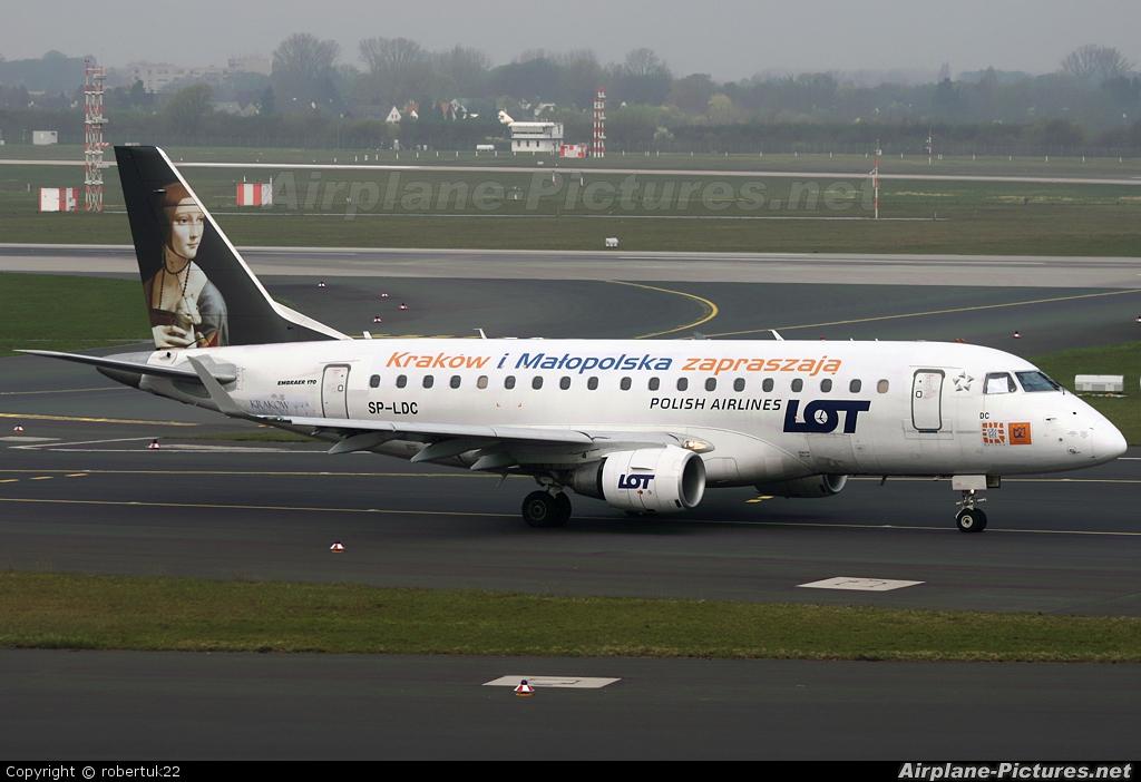LOT - Polish Airlines SP-LDC aircraft at Düsseldorf