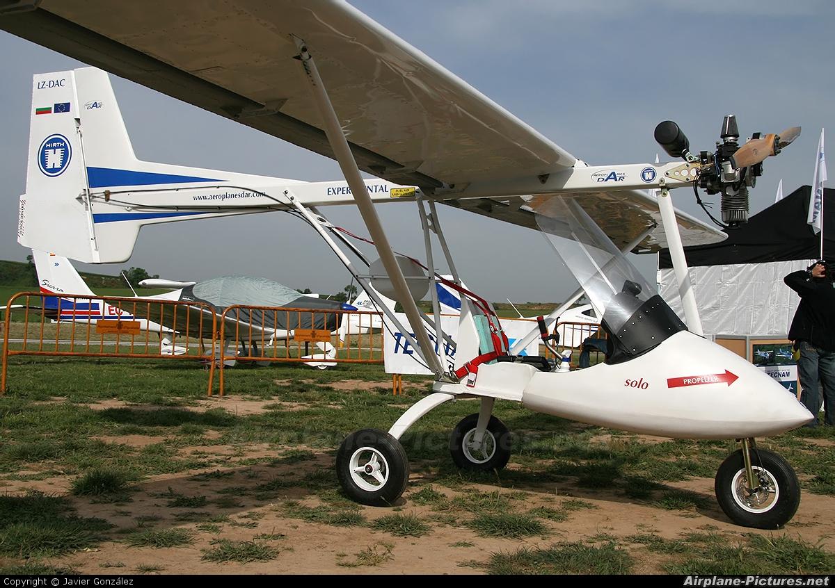 Private LZ-DAC aircraft at Igualada - Odena