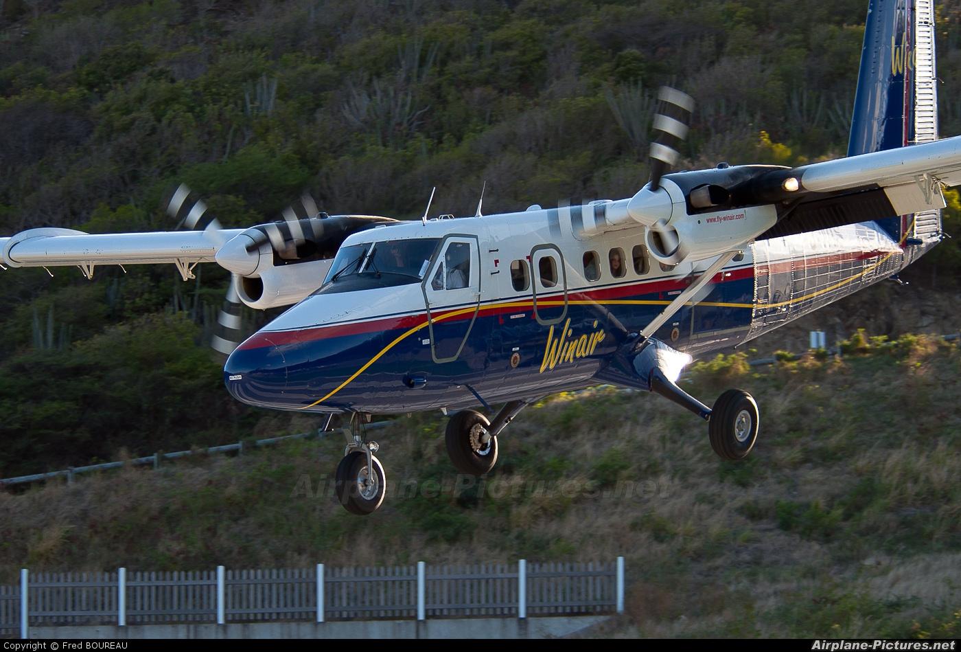 Winair PJ-WIS aircraft at Saint-Barthélemy - Gustaf III
