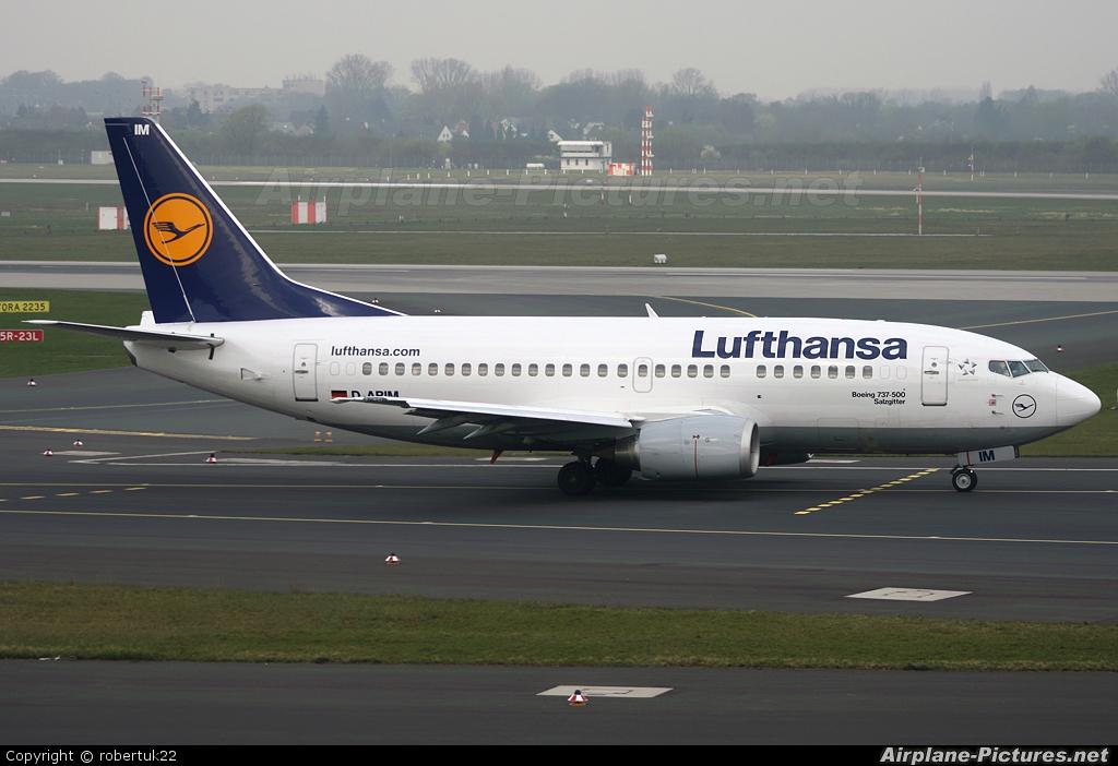 Lufthansa D-ABIM aircraft at Düsseldorf