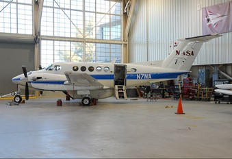 N7NA - NASA Beechcraft 200 King Air