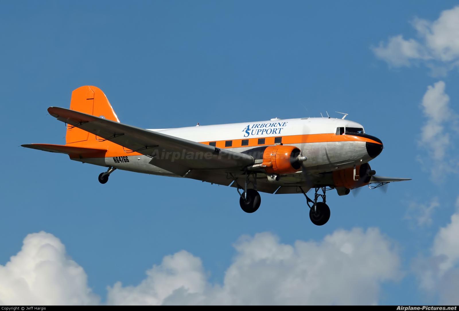 Airborne Support N64766 aircraft at Houma - Terrebonne