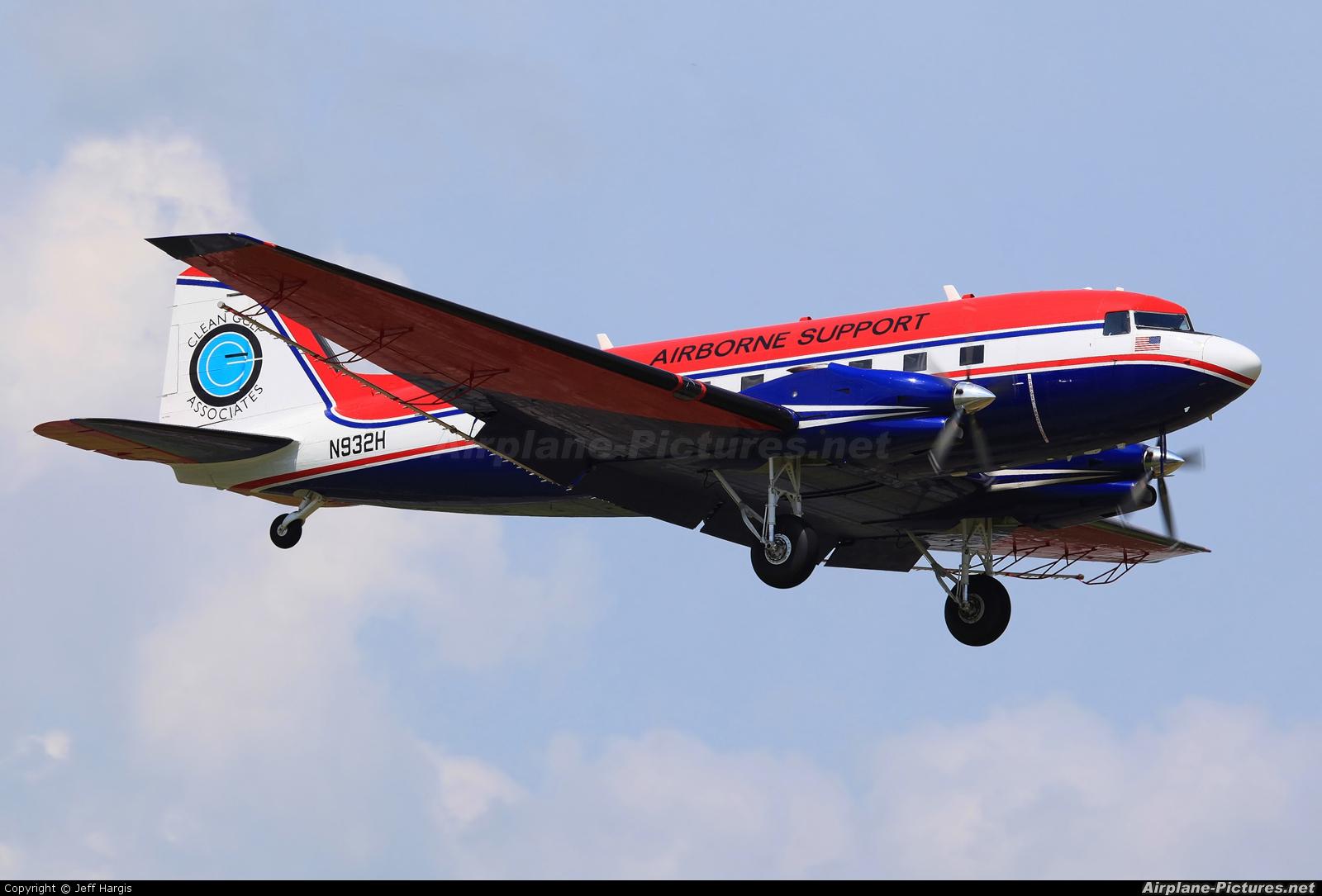 Airborne Support N932H aircraft at Houma - Terrebonne