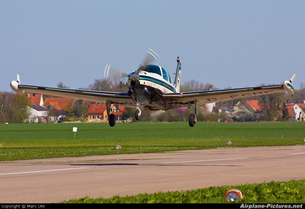 Private D-ECME aircraft at Donauwörth - Genderkingen