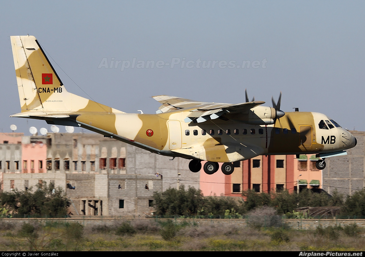 Morocco - Air Force CNA-MB aircraft at Marrakech - Menara