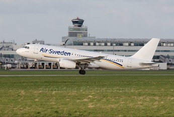 SE-RJN - Air Sweden Airbus A320