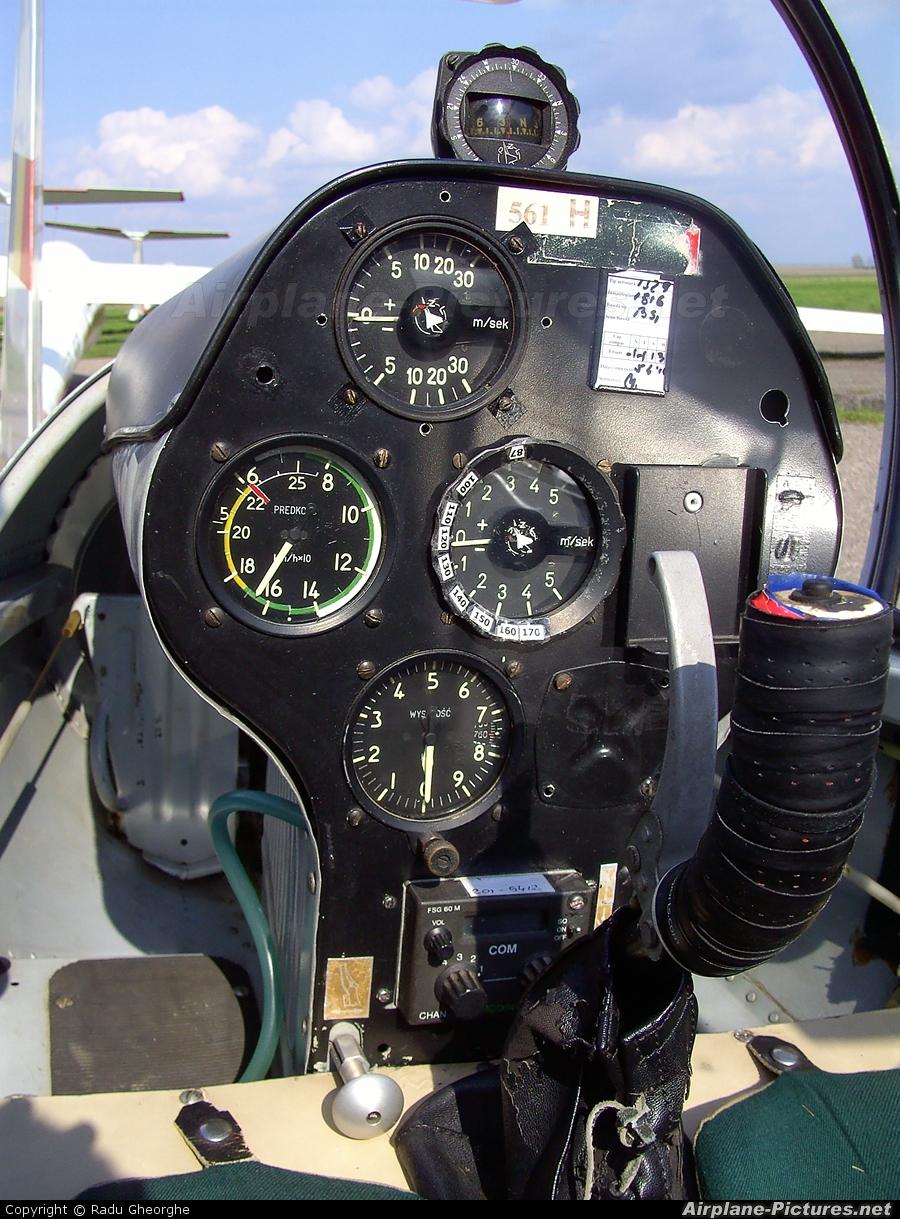 Romanian Airclub YR-1561 aircraft at Iasi-South