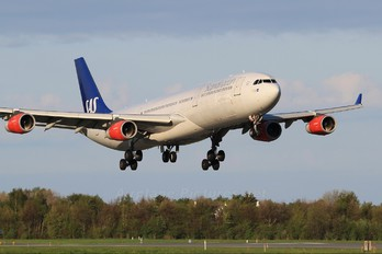 OY-KBD - SAS - Scandinavian Airlines Airbus A340-300