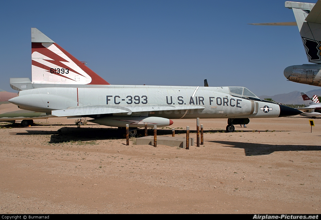 USA - Air Force 56-1393 aircraft at Tuscon - Pima Air & Space Museum