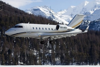 VQ-BDG - Private Canadair CL-600 Challenger 605