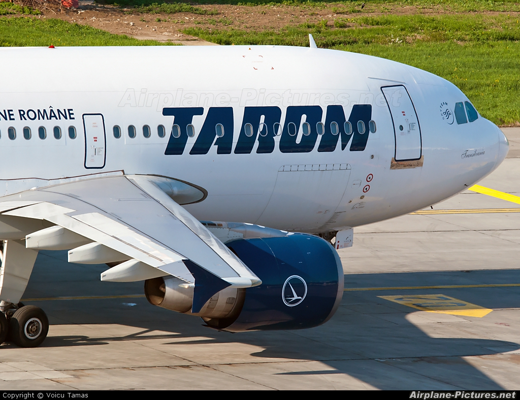Tarom YR-LCA aircraft at Bucharest - Henri Coandă