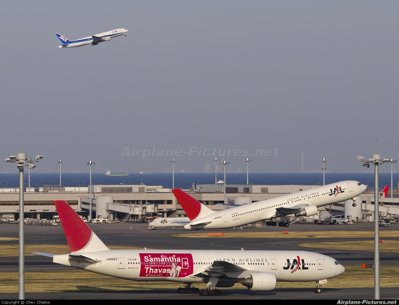 JAL - Japan Airlines JA8983 aircraft at Tokyo - Haneda Intl