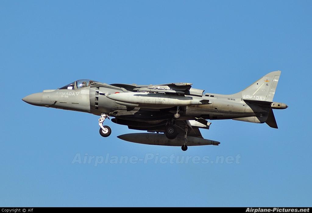 Spain - Navy VA.1B-26 aircraft at Madrid - Torrejon