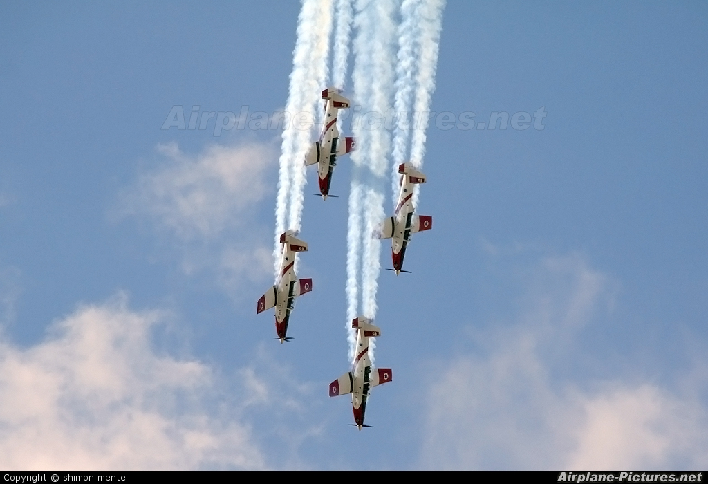 Israel - Defence Force - aircraft at Ramat David