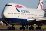 G-CIVY - British Airways Boeing 747-400 aircraft