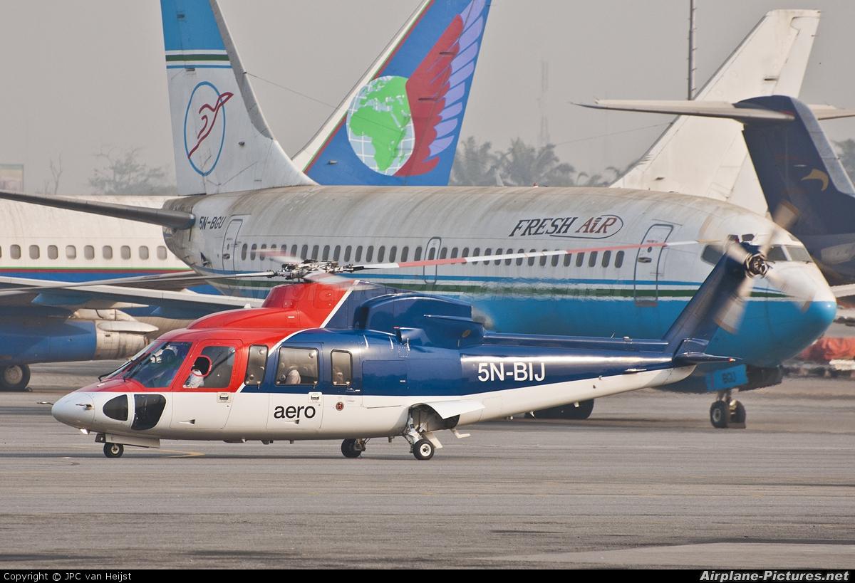 Aero Contractors Nigeria 5N-BIJ aircraft at Lagos - Murtala Muhammed