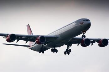 G-VMEG - Virgin Atlantic Airbus A340-600