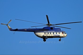 736 - Romania - Police Mil Mi-8S
