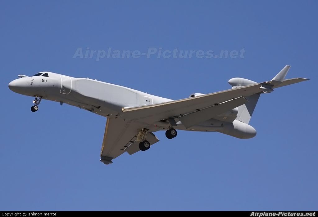 Singapore - Air Force 018 aircraft at Tel Aviv - Ben Gurion