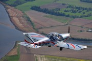 G-CFNW - Scottish Aero Club Evektor-Aerotechnik EV-97 Eurostar aircraft