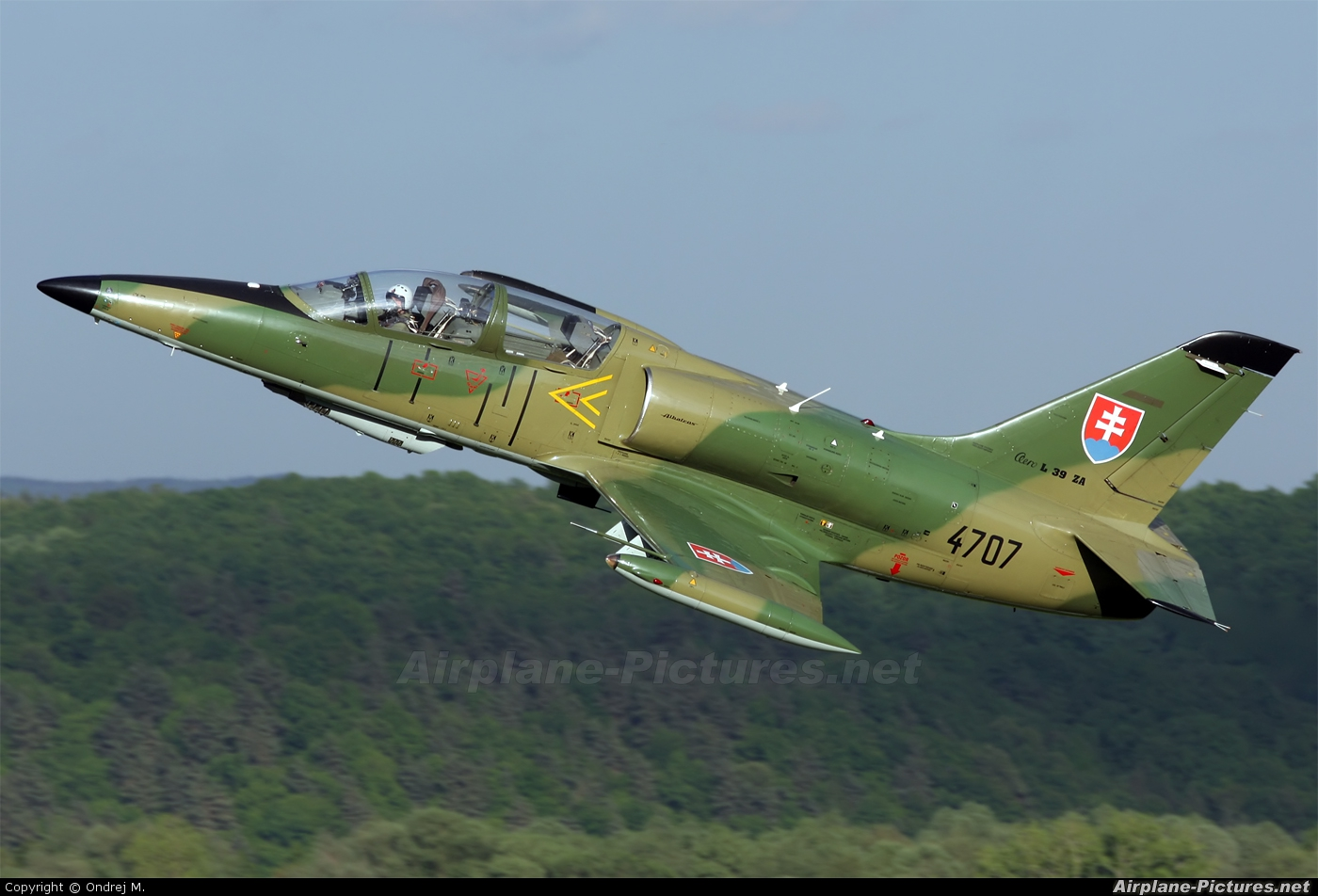 Slovakia -  Air Force 4707 aircraft at Sliač
