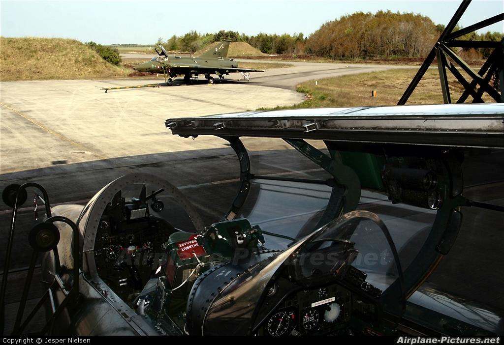 Denmark - Air Force AT-158 aircraft at Karup