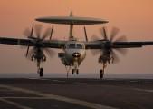 - - USA - Navy Grumman E-2C Hawkeye aircraft