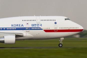 HL7465 - Korea (South) - Air Force Boeing 747-400