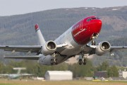 LN-KKR - Norwegian Air Shuttle Boeing 737-300 aircraft