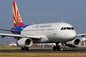 N826AW - US Airways Airbus A319