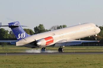 OY-KHU - SAS - Scandinavian Airlines McDonnell Douglas MD-87