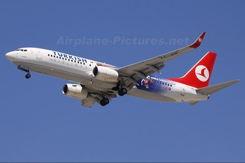 TC-JHF - Turkish Airlines Boeing 737-800