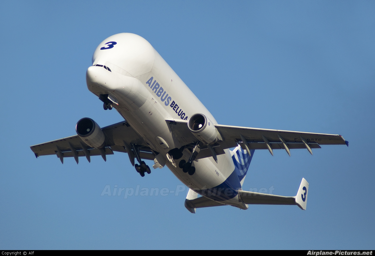 Airbus Industrie F-GSTC aircraft at Madrid - Getafe