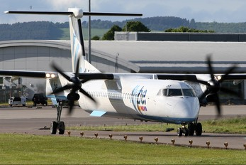 G-ECOT - Flybe de Havilland Canada DHC-8-400Q Dash 8