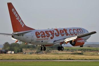 G-EZJL - easyJet Boeing 737-700