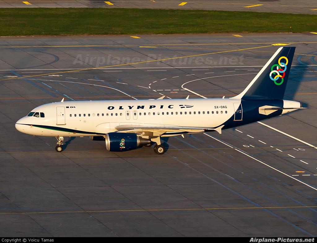 Olympic Airlines SX-OAG aircraft at Bucharest - Henri Coandă